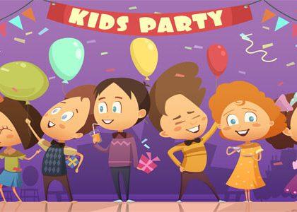 kids balloon party games Dubai