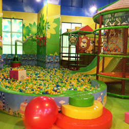 Kids play area in Dubai