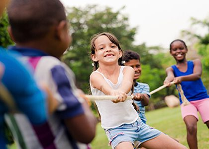 summer camp fun activity